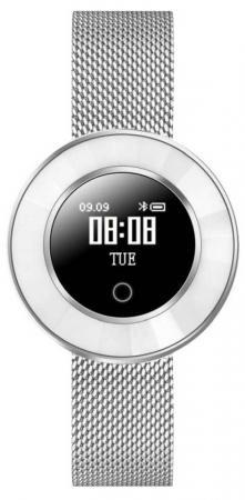 Смарт-часы Krez Tango 35мм 0.66 OLED серебристый (SW23) krez sport black green