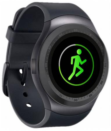 Смарт-часы Krez Hero 45.6мм 1.3 IPS черный (SW22) умные часы krez hero черный
