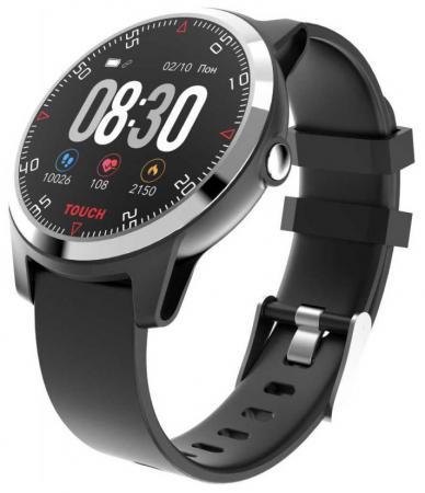 Смарт-часы Krez Conga 45мм 1.3 IPS черный (SW21) умные часы krez hero черный