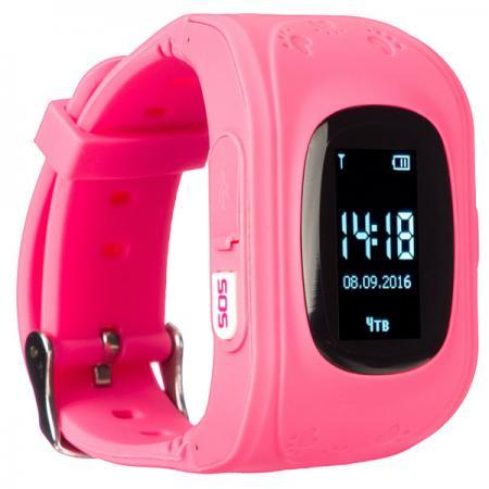 "цена Смарт-часы Jet Kid Start 54мм 0.64"" OLED черный (START PINK) онлайн в 2017 году"