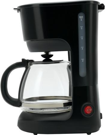 Кофеварка Polaris PCM 0632 600 Вт черный