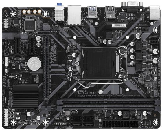Материнская плата GigaByte H310M S2H 2.0 Socket 1151 v2 H310 2xDDR4 1xPCI-E 16x 2xPCI-E 1x 4 mATX Retail