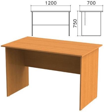 Стол письменный Фея, 1200х700х750 мм, цвет орех милан, СФ03.5 цена
