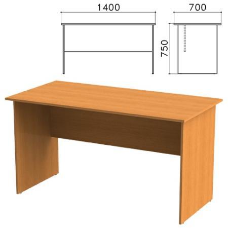 Стол письменный Фея, 1400х700х750 мм, цвет орех милан, СФ02.5 цена