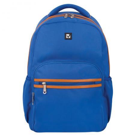Рюкзак ручка для переноски BRAUBERG Стоун 27 л синий рюкзак ручка для переноски brauberg рюкзак для школы и офиса mainstream 2 35 л серый синий