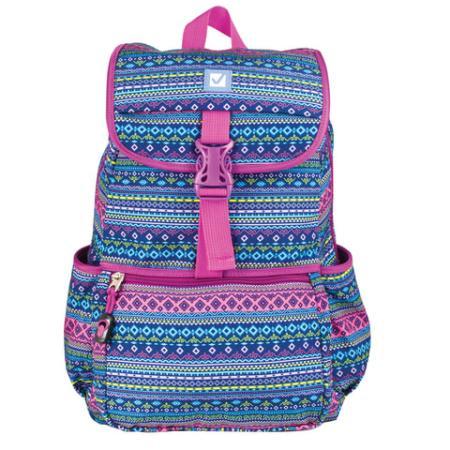 Купить Рюкзак ручка для переноски BRAUBERG Орнамент 15 л мультиколор, Рюкзаки для школьников