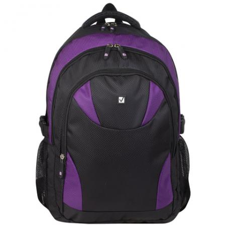 Рюкзак BRAUBERG Пурпур 24 л фиолетовый черный 226379 цена и фото