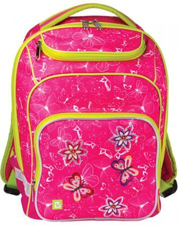 Купить Рюкзак ручка для переноски BRAUBERG Рюкзак BRAUBERG для учениц начальной школы 15 л розовый, Рюкзаки и сумки