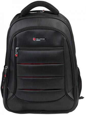 Купить Рюкзак ручка для переноски BRAUBERG Рюкзак для школы и офиса BRAUBERG Flagman 35 л черный красный, Рюкзаки для школьников