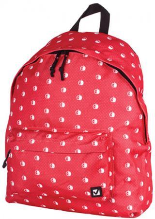 Рюкзак ручка для переноски BRAUBERG Рюкзак BRAUBERG универсальный 23 л красный цена и фото