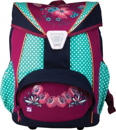 Купить Рюкзак BRAUBERG для учениц, ортопедический, евроформат, EasyLock, Горошек , 20 литров, 37х29х19 см, 226326, Рюкзаки и сумки