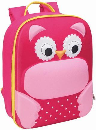 Рюкзак термоизоляцией BRAUBERG Сова розовый schreiber рюкзак сова