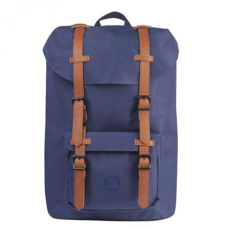 Рюкзак с отделением для ноутбука BRAUBERG Кантри 20 л синий цена