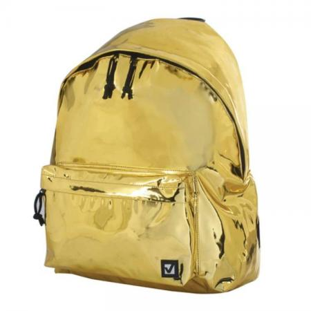 Рюкзак BRAUBERG Винтаж 20 л золотистый цена