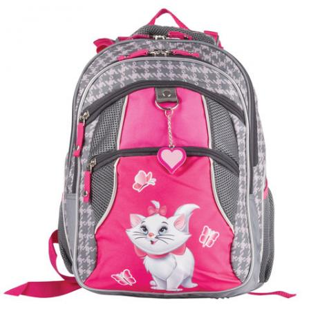 Рюкзак ортопедический Erich Krause 39315 15 л розовый серый рюкзак 3020804408 2 розовый серый