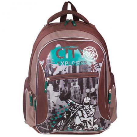 Рюкзак с усиленной спинкой Erich Krause 39333 21 л мультиколор erich krause рюкзак школьный erich krauseс эргономичной спинкой doodling модель multi pack