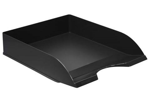 Фото - Лоток горизонтальный для бумаг СТАММ Дельта, черный, ЛТ651 лоток для бумаг горизонтальный черный лт152