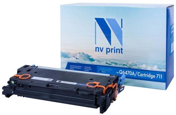 Фото - Картридж NV-Print HP Q6470A/Canon 711 черный (black) 6000 стр. для HP LaserJet Color 3505/3600/3800 / Canon LBP-5300/5360 / MF-9130/9170/9220Cdn/9280Cdn картридж nv print hp q6473a canon 711 пурпурный magenta 4000 стр для hp laserjet color 3505 3600 3800 canon lbp 5300 5360 mf 9130 9170 9220cdn 9280cdn