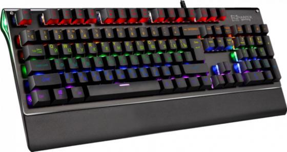 Клавиатура проводная Harper GKB-P101 USB черный senseit p101 черный