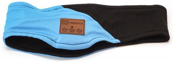 купить Гарнитура Harper HB-500 черный голубой H00000917 по цене 1499 рублей
