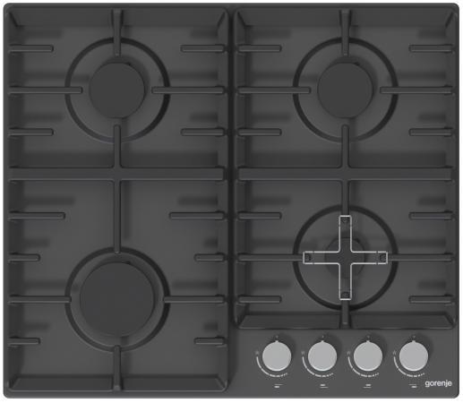 Газовая варочная поверхность Gorenje G641AMB черный цена 2017