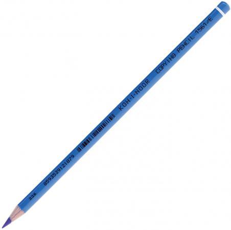 Карандаш цветной Koh-i-Noor 156100E004KS 175 мм химический карандаш цветной koh i noor mondeluz бананово желтый 175 мм акварельные 3720 41