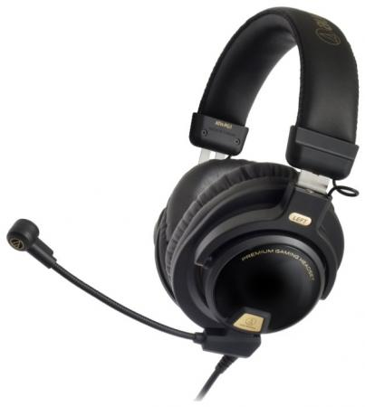 Игровая гарнитура проводная Audio-Technica ATH-PG1 черный 15118120 стоимость