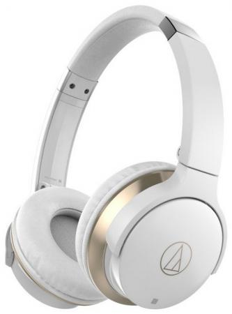 лучшая цена Наушники AUDIO-TECHNICA ATH-AR3BTWH Bluetooth