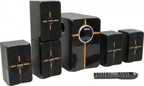 Колонки Dialog Progressive AP-502 BLACK - 5.1, 25W+5*5W RMS, Bluetooth, USB, SD, FM, RC