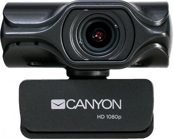 Веб-камера CANYON CNS-CWC6 3.2 МП, 2K Quad HD, USB 2.0, крепление для штатива, автофокус, микрофон с автоматическим шумоподавлением, черный стоимость