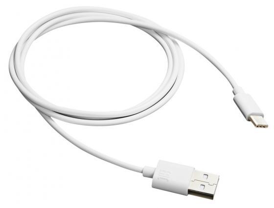 Фото - Кабель Type-C 1м Canyon CNE-USBC1W круглый белый кабель type c 1м perfeo u4704 круглый белый