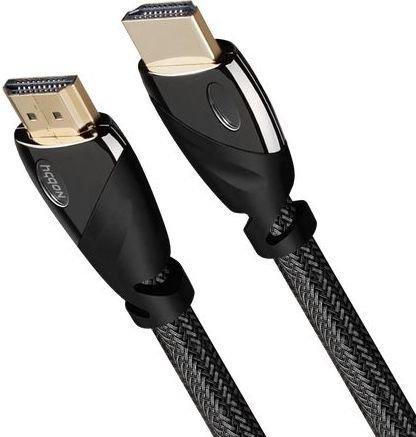 Кабель HDMI 5м Nobby Expert круглый черный NBE-HC-50-01