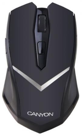 Мышь беспроводная Canyon CNE-CMSW3, 2.4GHz 6 buttons, DPI 800/1600, power saving technology, Black цена и фото
