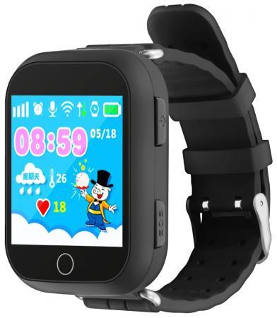 Умные часы детские GiNZZU® GZ-503 black 1.54 Touch/Геолокация по WI-FI/GPS/LBS/Гео-зоны/Кнопка SOS/nano-SIM умные часы детские ginzzu gz 511 pink 0 66 micro sim gps lbs wifi геолокация датчик снятия с руки