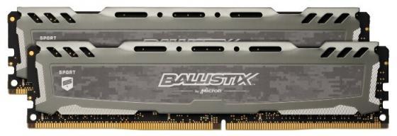 Память DDR4 16Gb 2x8Gb (pc-24000) 3000MHz Crucial Ballistix Sport LT Grey CL15 SRx8 BLS2K8G4D30AESBK цены