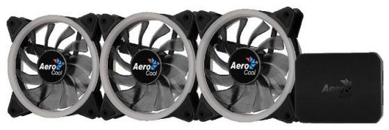 Комплект вентиляторов Aerocool REV RGB PRO: 3х RGB 120х120х25мм REV RGB вентилятора + контроллер P7-H1 все цены