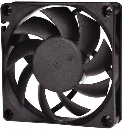 Вентилятор ID-Cooling NO-7015-SD/3pin+molex (70?70?15 мм ,3000об/мин,12VDC) вентилятор id cooling no 4010 sd 3pin molex 40 40 10 мм 4500об мин 12vdc