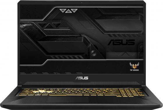 Ноутбук Asus FX705GE-EW140T i5-8300H (2.3)/8G/1T+256G SSD/17.3FHD AG IPS/NV GTX1050Ti 4G/noODD/Win10 Gunmetal, Metal ноутбук asus gl503ge en272 i5 8300h 2 3 8g 1t 256g ssd 15 6fhd ag 120hz nv gtx1050ti 4g noodd bt noos gunmetal aluminum