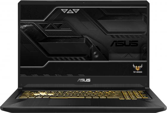 "Ноутбук ASUS FX705GE-EW257T 17.3"" 1920x1080 Intel Core i5-8300H 512 Gb 8Gb Bluetooth 5.0 nVidia GeForce GTX 1050Ti 4096 Мб черный Windows 10 Home 90NR00Z1-M05340 цена 2017"