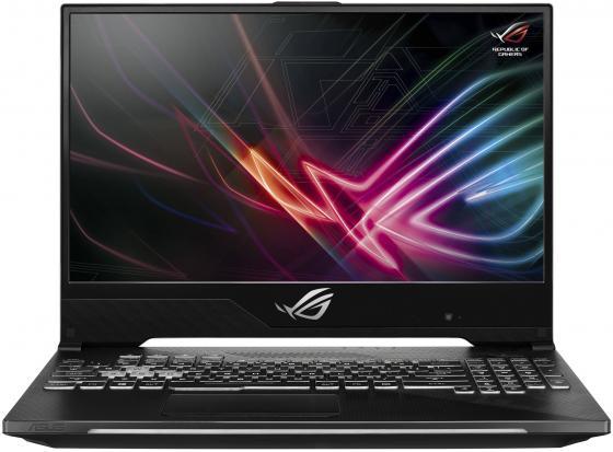 """Ноутбук Asus GL504GM-ES329 SCAR II i5-8300H (2.3)/8G/1T+256G SSD/15.6"""" FHD AG IPS 144Hz/NV GTX1060 6G/noODD/BT/noOS Gunmetal цена и фото"""