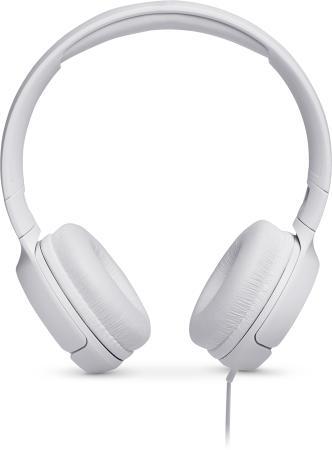 Гарнитура JBL Tune 500 белый JBLT500WHT headphones jbl tune 500