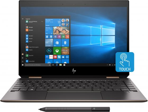 "Ноутбук HP Spectre x360 13-ap0002ur 13.3"" 1920x1080 Intel Core i5-8265U 256 Gb 8Gb Bluetooth 5.0 Intel UHD Graphics 620 черный Windows 10 Home 5MN15EA цена 2017"