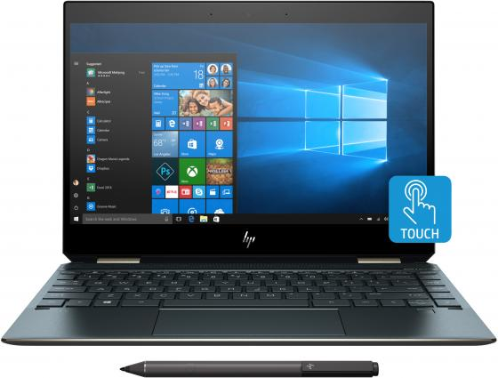 "Ноутбук HP Spectre x360 13-ap0003ur 13.3"" 1920x1080 Intel Core i5-8265U 256 Gb 8Gb Bluetooth 5.0 Intel UHD Graphics 620 синий Windows 10 Home 5MM85EA цена 2017"