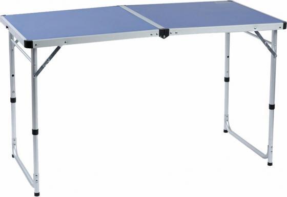 Стол походный Camping World Funny Table Blue (цвет синий, чехол, допустимая нагрузка до 30 кг, размер 120х60х53/62/70 см)