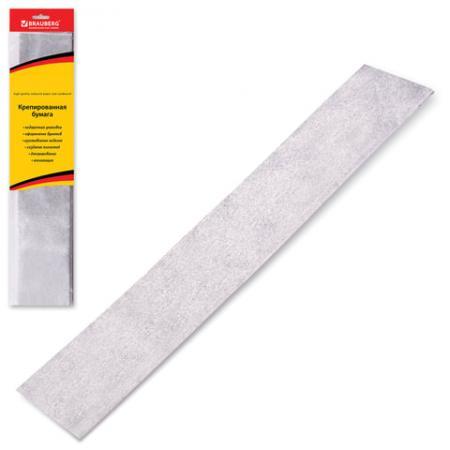 Цветная бумага крепированная BRAUBERG Цветная бумага крепированная , металлик 50х100 см рулон