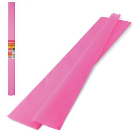 Цветная бумага крепированная BRAUBERG Цветная бумага крепированная плотная 250х50 см рулон