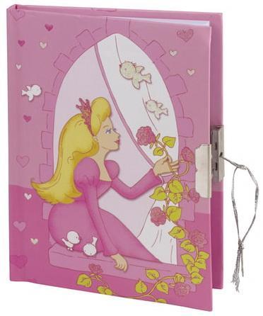 """Блокнот 7БЦ, А6+, 56 л., фоторамка+блок для записи, подарочная упаковка, BRAUBERG """"Принцесса"""", 110х150 мм, 128430"""