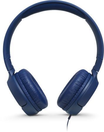 Гарнитура JBL Tune 500 голубой JBLT500BLU гарнитура
