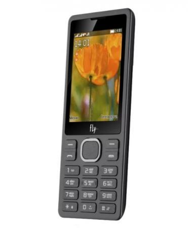 Fly FF282 Black Мобильный телефон мобильный телефон fly ff243 black