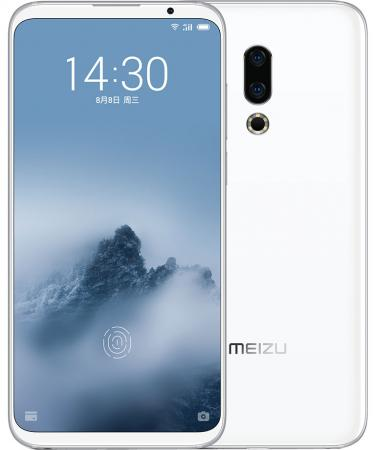 Смартфон Meizu 16th белый 6 64 Гб LTE 3G GPS Wi-Fi Bluetooth 4G
